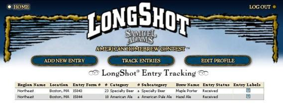 LongShot Competition Status