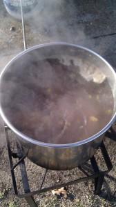 Dunkelweizen Boil