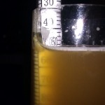 Cider Hydrometer Reading