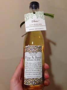 Mead Wedding Favor