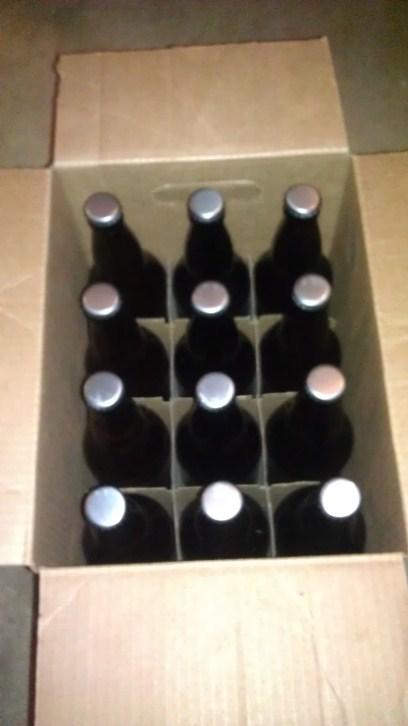 Bottles of Bohemian Pilsner
