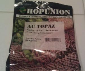 Topaz hops