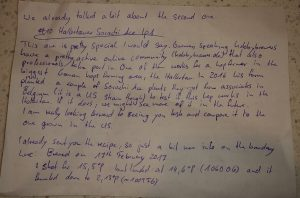 Alex Letter Sorachi Ace IPA