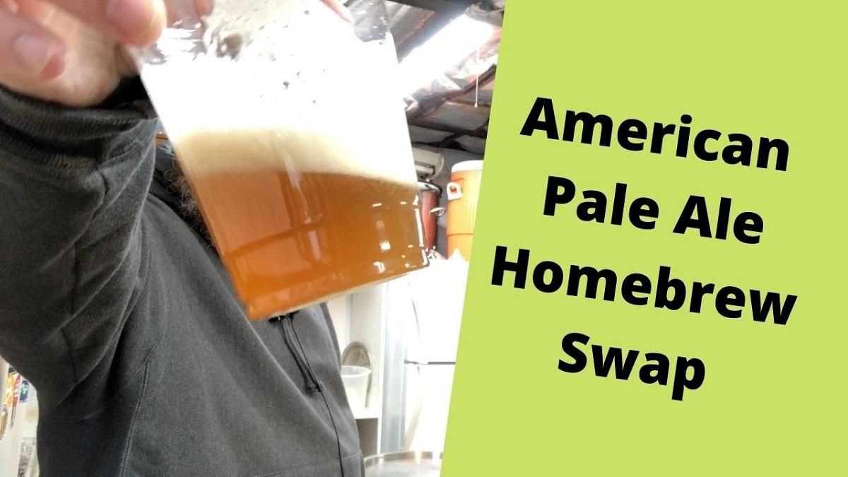 American Pale Ale Beer Swap