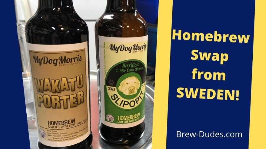 Homebrew Exchange 43 Swedish Beer Swap