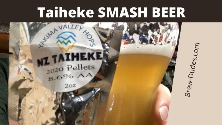 Taiheke Hops SMaSH Beer