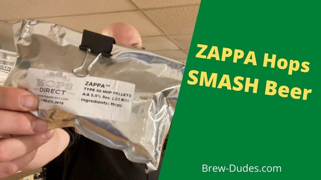 Zappa Hops SMaSH Beer Post Visual
