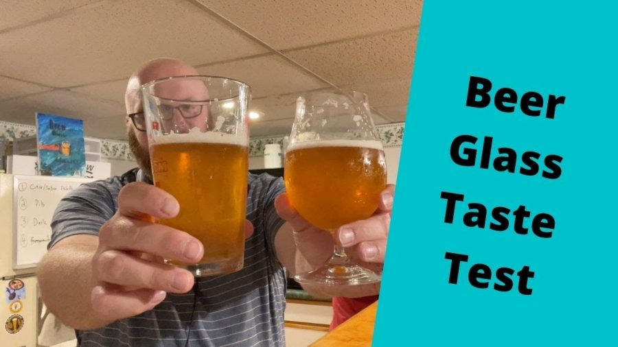 Tasting Beer in Different Glasses